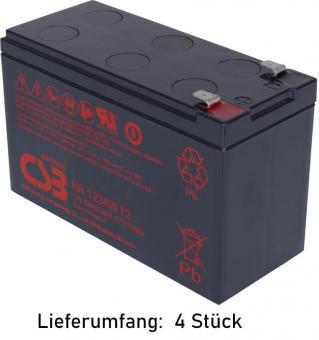 APC RBC24 als Bausatz - Einzelne Batterien nur 1 Jahr Garantie