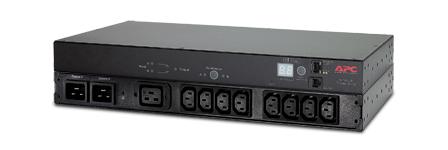 APC AP7721: Automatic Transfer Switch, 230V/10 A, Rackmount