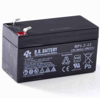 B.B. Battery, BP1.2-12 T1, VdS