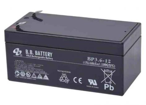 B.B. Battery, BP3.6-12 T2