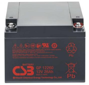 12V 26AH CSB Battery GP12260