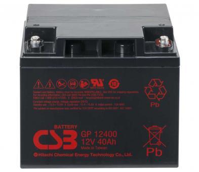 12V 40AH CSB Battery GP12400
