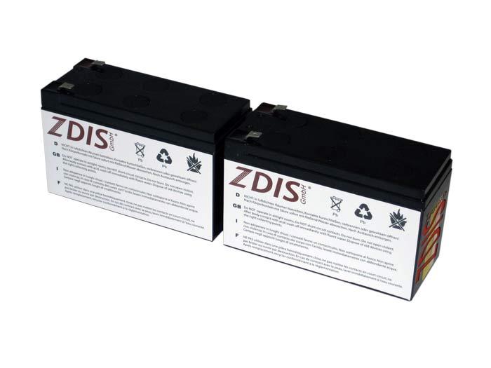 USV Akkusatz kompatibel PowerMust 1000 USB P MUS-PM1000USB AGM Blei Accu