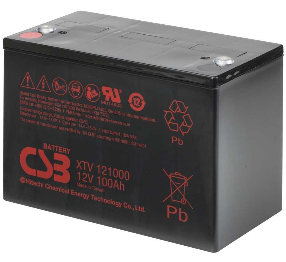 Xtv121000 Xtv 121000 Csb Battery Zdis